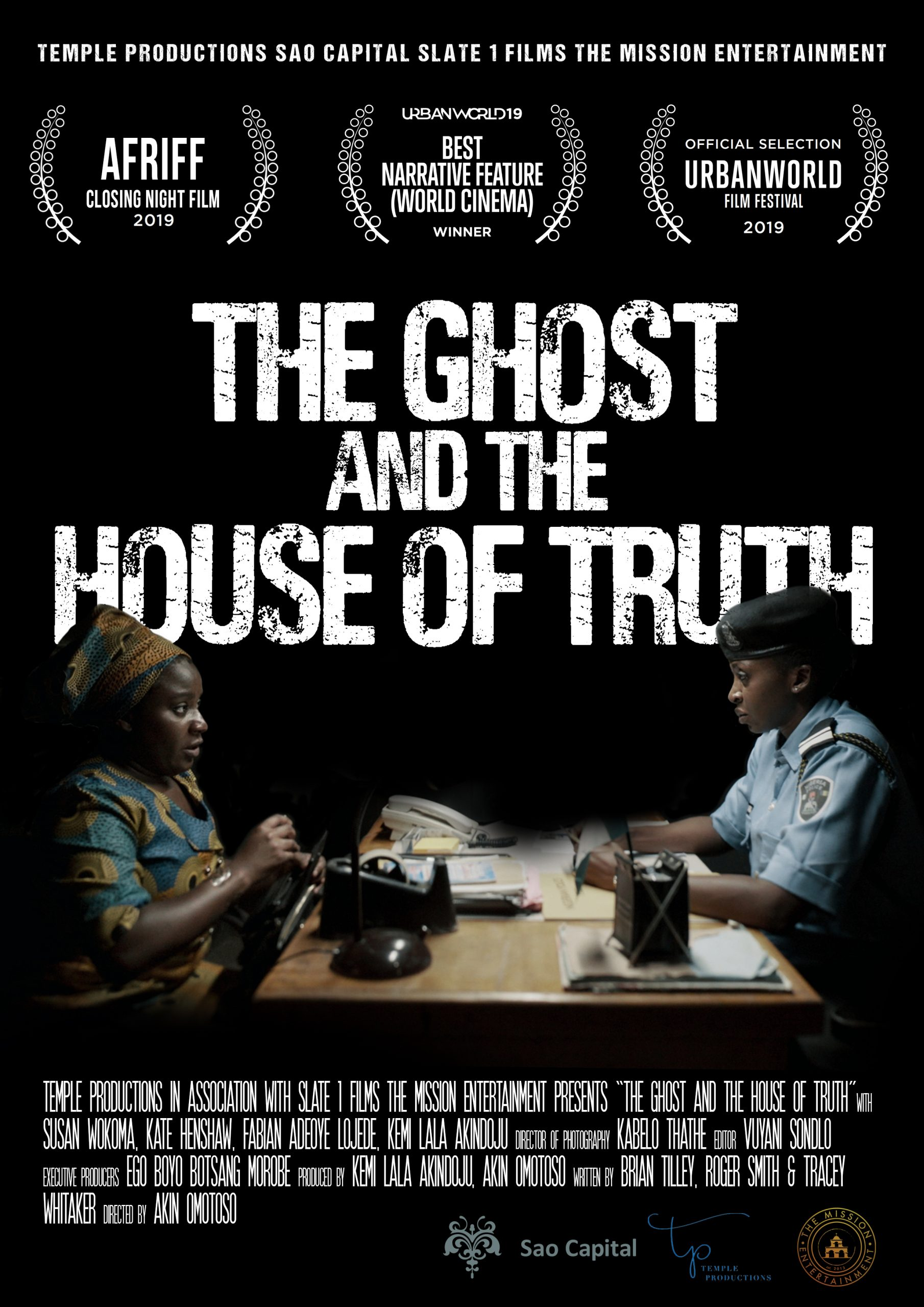 The Ghost and The House Of The Truth Poster