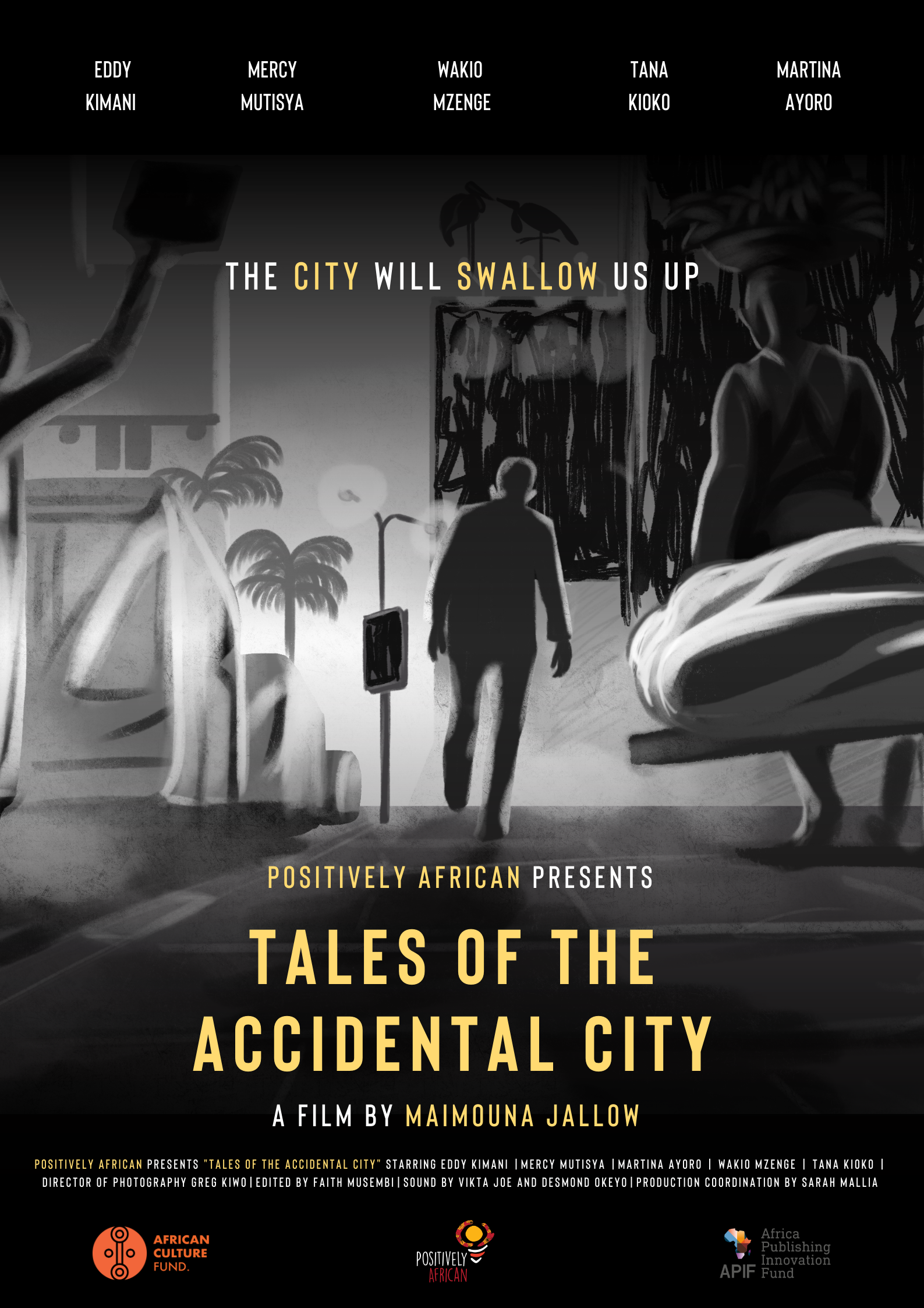 Tales of the Accidental City Poster